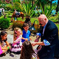 Fiestas infantiles, magia para niños